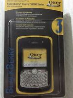 Otterbox Defender Series Blackberry Curve 8300 Series Black Case/belt Clip