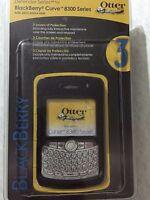 Otterbox Defender Series Blackberry Curve 8300 Series Black Case/belt Clip