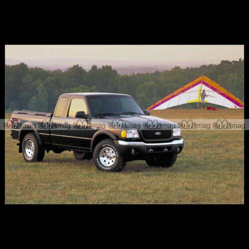 #pha.001460 Photo FORD RANGER XLT FX4 SUPER CAB 2002-2003 Car Auto