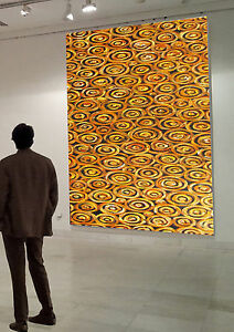 Golden-Dreampools-Large-Aboriginal-Art-By-Jane-Crawford-2000mm