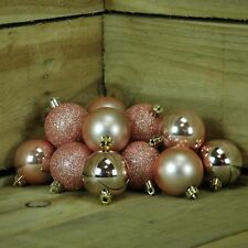 79a6c4b888be item 6 Snow White Set Of 16 5cm Baubles In PVC Box Rose Gold -Snow White  Set Of 16 5cm Baubles In PVC Box Rose Gold