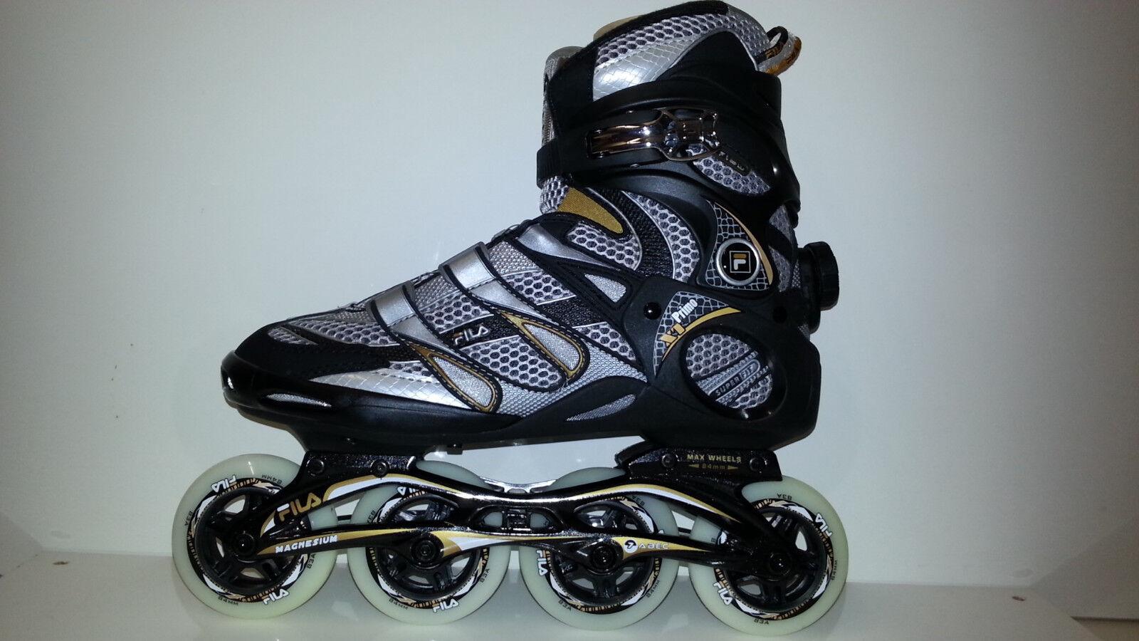 Fila Primo XT Men Herren Fitness Inline Skates 84 mm Gr. 39 schwarz Gold sale  | Sehr gute Farbe
