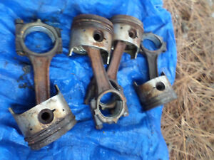 FIAT-124-SPIDER-GOOD-USED-CONECTING-ROD-SET-RODS-1800CC