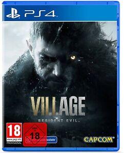 Resident Evil 8 Village (PS4 inkl PS5 Upgrade) (NEU OVP) (UNCUT) (Blitzversand)