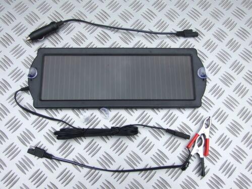 1.5W SOLAR PANEL 12 VOLT BATTERY SAVER TRICKLE CHARGER BOAT CARAVAN CLASSIC CAR