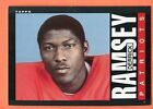 1985 Topps Derrick Ramsey #331 Football Card