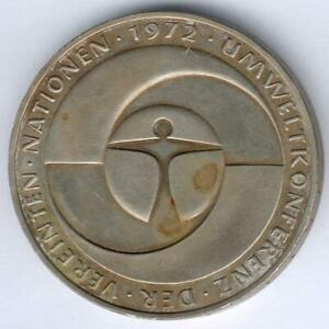 BRD-5-Mark-1972-F-034-Umweltschutz-034-J-431-kl-Kratzer-Umlaufspuren-ss-vz