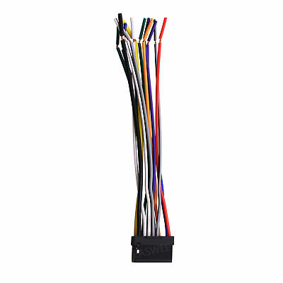 [SCHEMATICS_48YU]  WIRE HARNESS Cable FOR ALPINE Radio CDE-9852 CDE9852 CDE-9881 CDE9881 CDE-9872  | eBay | Alpine Cde 9881 Wiring Harness |  | eBay