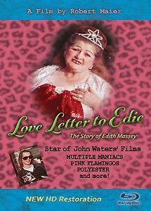 NEW!  Restored,  LOVE LETTER TO EDIE - BLU-RAY - ust  10 left! Act now!