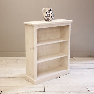 Lulworth-3-Tier-Bookcase-Shelf-Finished-in-Shabby-Chic-White-Wash