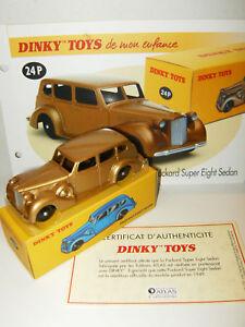 DINKY-TOYS-ATLAS-PACKARD-SUPER-EIGHT-SEDAN-24-P-au-1-43-avec-Boite