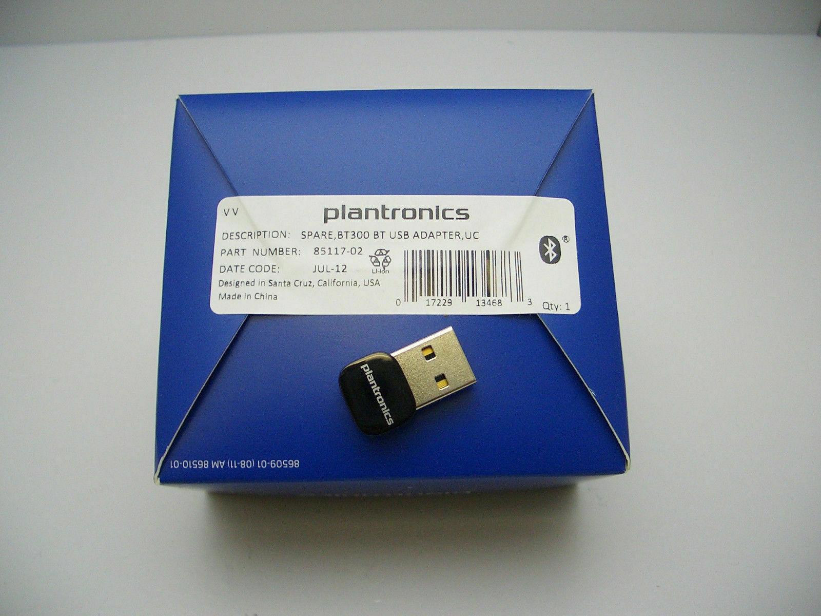 Plantronics BT300 Bluetooth 2.0 Adapter 89259-02 for Calisto 620 Legend B235