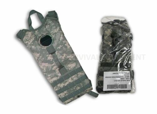 US Military Molle Hydration System Carrier Backpack w/o Bladder ACU Pattern, NEW