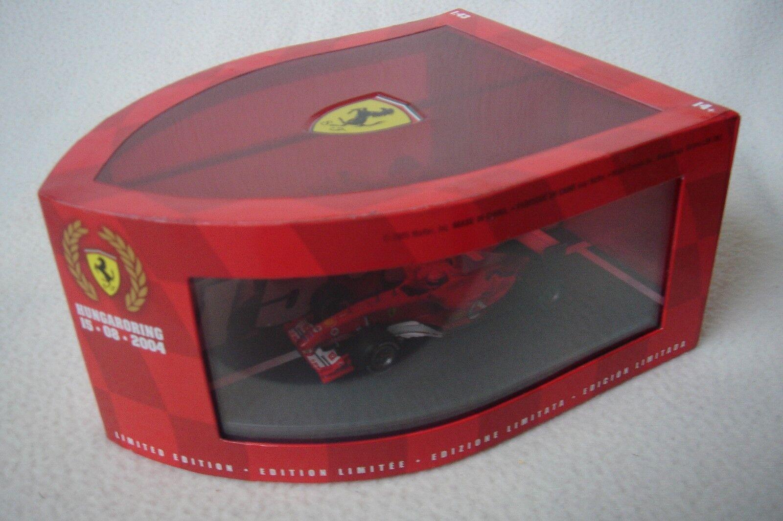 HOT WHEELS 1 43 FERRARI CAMPIONI COSTRUTTORI 2004 Schumacher Barrichello B6223