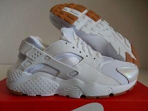 release date 5499d 7034f La foto se está cargando Nike-Huarache-Run-se-grade-school-Blanco-Prisma-