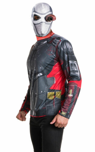 """Adult Fancy Dress Costume /""""Suicide Squad Deadshot/"""" Cosplay"""
