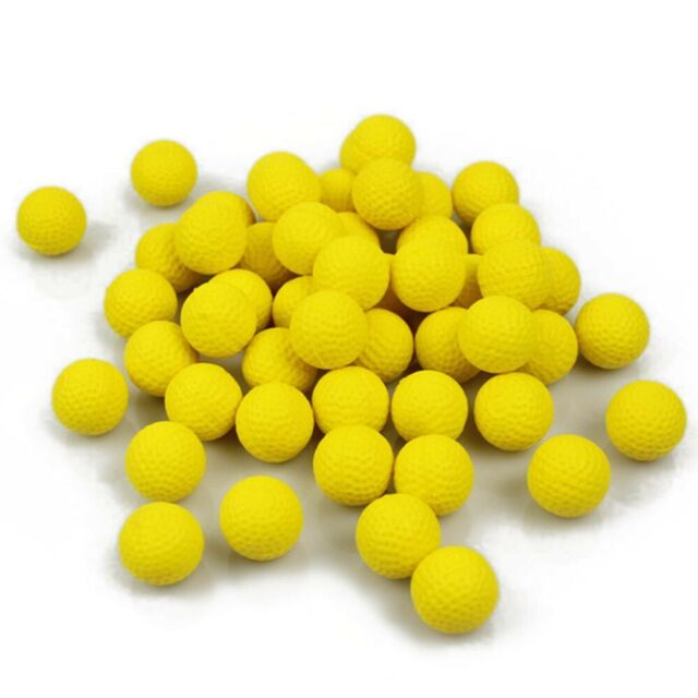 20//50//100Pcs Bullet Balls Rounds Compatible For Nerf Rival Apollo Child Kid Toy
