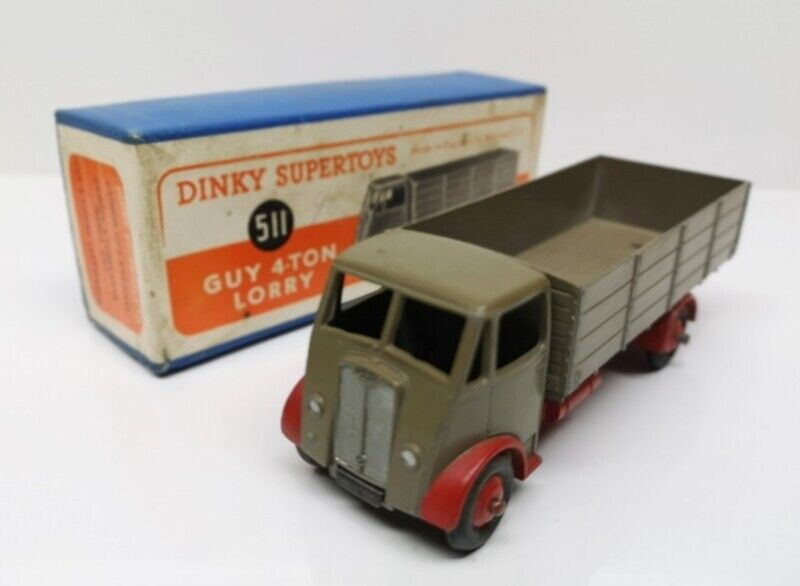 DINKY TOYS   511 GUY 4 Ton Lorry - 1st Type Cab - Faw cab & Back - MB