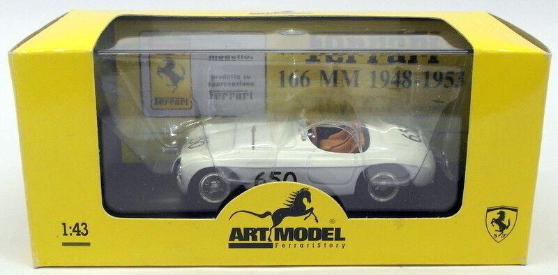 Art Model 1 43 Scale Model Car ART017 - Ferrari 166 S -  650 Mille Miglia 1950