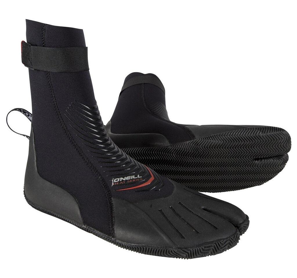 3mm O'Neill HEAT  Split-Toe Wetsuit Booties  lightning delivery