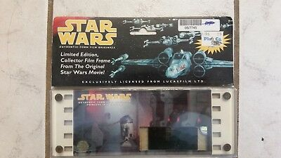 PRINCESS LEIA Edition Authentic 70mm Film Original  Cell Card Star Wars