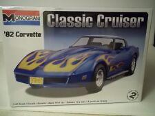 1982 Corvette Classic Cruiser convertible 1/24th scale model kit, MIB