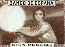 ESPAÑA España ESPANA Billete 100 pesetas 1953. JULIO ROMERO DE TORRES. NUEVO UNC