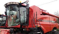 Universal Combine Farm Tractor Mirror Super Size 9x16 Great For Case Ih Units