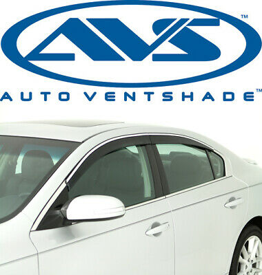 Tape-On AVS Rain Guards 794011 Window Vent Visor Fit 2009-2015 Nissan Maxima
