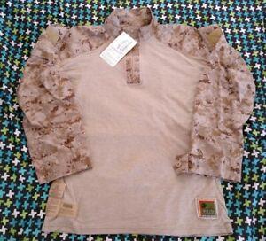 USMC-Desert-Frog-Shirt-AUTHENTIC-Large-Regular-New