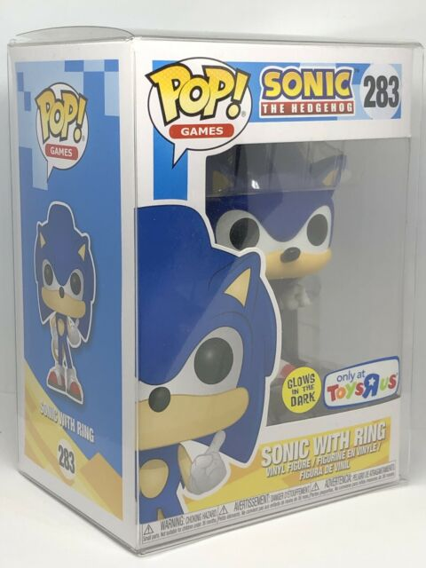 Funko Pop 283 Sonic With Ring Glow In Dark Toys R Us For Sale Online Ebay