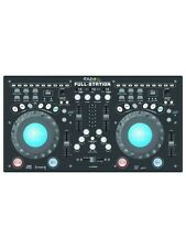 Ibiza Sound Fullstation Dual CD Player Mixer USB Console DJ Disco