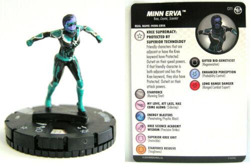 #011 Minn Erva Captain Marvel Movie Set Heroclix