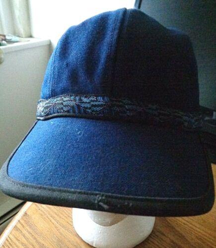 Vintage Mental Captain Style Strapback Hat Adjusta