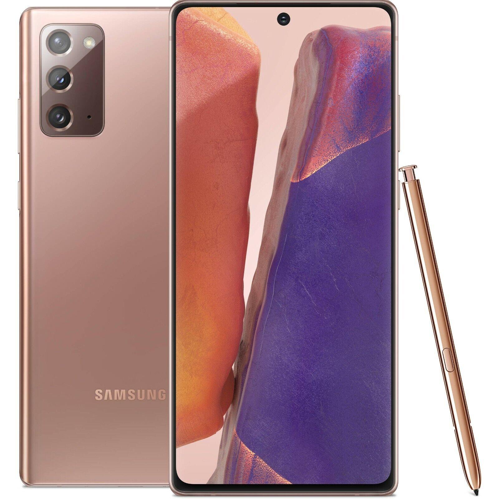 Samsung Galaxy Note 20 256GB 8GB RAM SM-N980F/DS (FACTORY UNLOCKED) 6.7