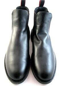 NEW-Allen-Edmonds-034-NOMAD-034-Chelsea-Leather-Boots-10-D-Black-553