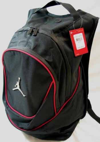 Nike Jordan Jumpman Black Red Backpack Bookbag Bag Laptop Bag NEW