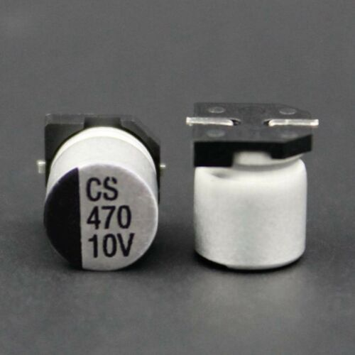 Electrolytic Capacitors Full Range 0.47uF to 1000uF  SMD//SMT 6.3V-400V Aluminum