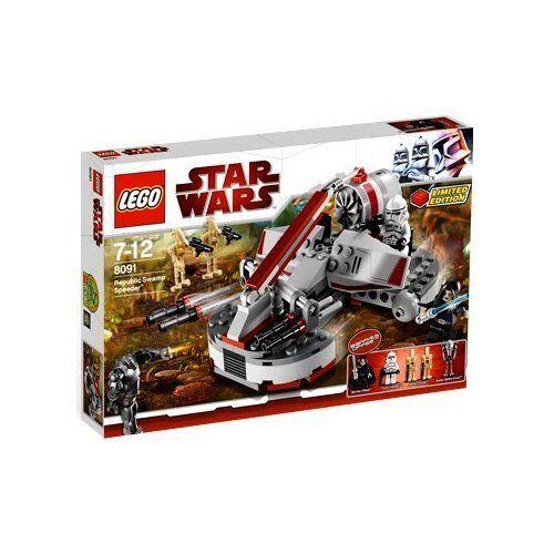 Lego Star Wars™ 8091 Republic Swamp Speeder™ Nuovo Conf. Orig.