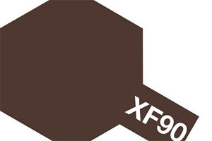 Tamiya-10ml-Red-Brown-2-Mini-Acrylic-Paint-XF-90