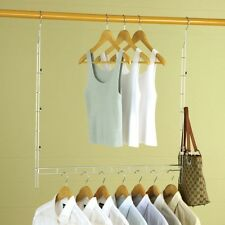 Heavy Duty Xtra Closet Organizer with 8 Bonus Hangers - Doubles Closet Space!