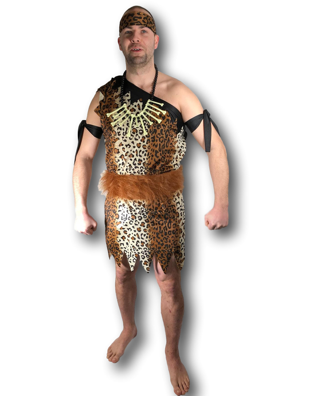 Men/'s jungle caveman cave man  costume//halloween