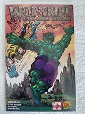 Wolverine 66 Old Man Logan DF Var Signed John Romita Sr Sketch Ken Haeser W/COA