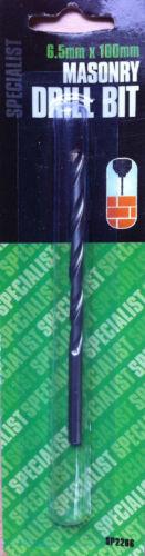 2 x High Performance Professional Masonry Drill Bits Tungsten Carbide Tip 4-12mm