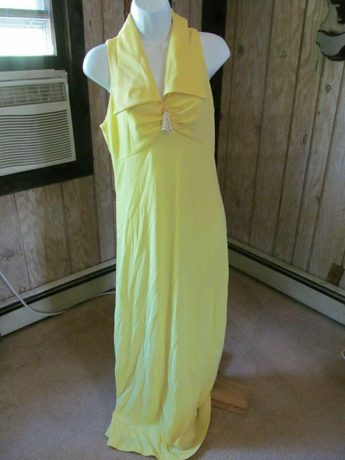 Vintage Yellow Gown or Marilyn Monroe Halloween C… - image 2