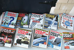 Lot of 105 Vintage 2000's Popular Science Magazines