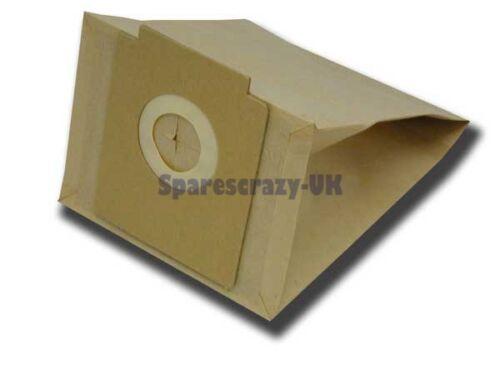Passend für zanussi ZAN3002 3010 3015 Kompakt Power Staubsauger Beutel 5 Packung