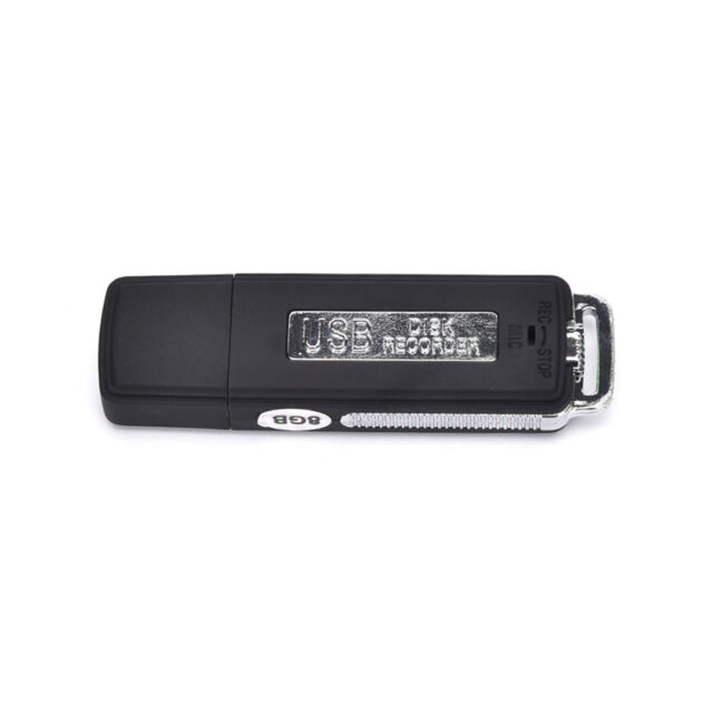 8GB USB Disk Pen Flash Drive Digital Audio Voice Recorder 150 hrs Recording MW