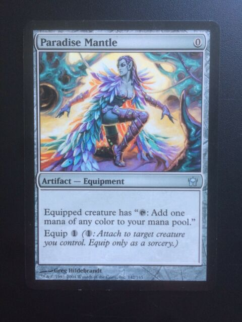 Paradise Mantle Fifth Dawn NM Artifact Uncommon MAGIC GATHERING CARD ABUGames