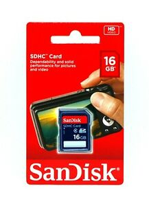 Band-New-SanDisk-16GB-SD-HC-SDHC-Class-4-Flash-Memory-Card-16G-in-Retail-Package
